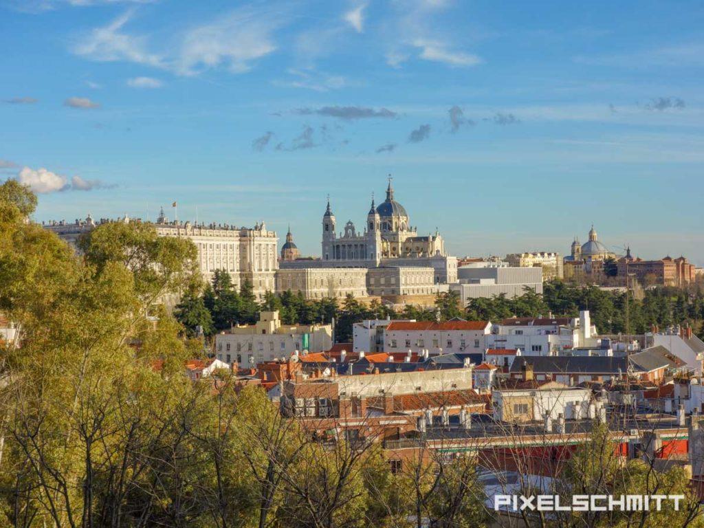 Beste Aussicht auf Madrids Sehenswürdigkeiten