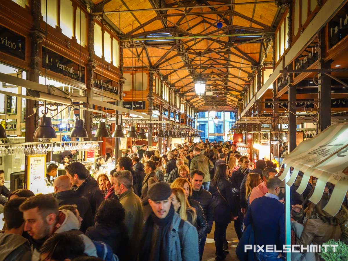Ein Blick in die kulinarische Sehenswürdigkeit: Die Markthalle San Miguel