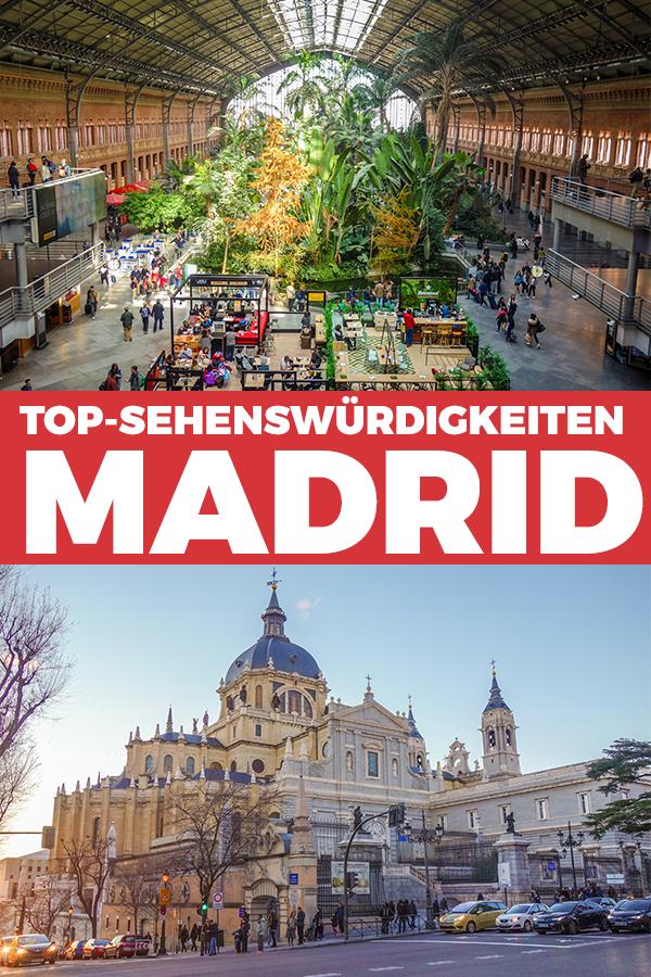 Wir zeigen Dir hier Sehenswürdigkeiten in Madrid, die Du auf jeden Fall gesehen haben musst. ✔️Perfekt für ein verlängertes Wochenende!