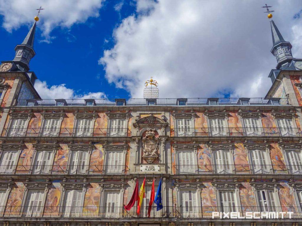 Casa de Panaderia / Das Haus der Bäckereien auf der Plaza Mayor in Madrid