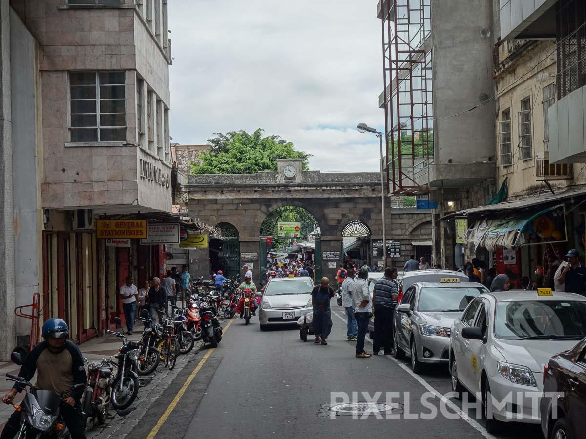 Mauritius: Straßenszene in der Hauptstadt Port Louis