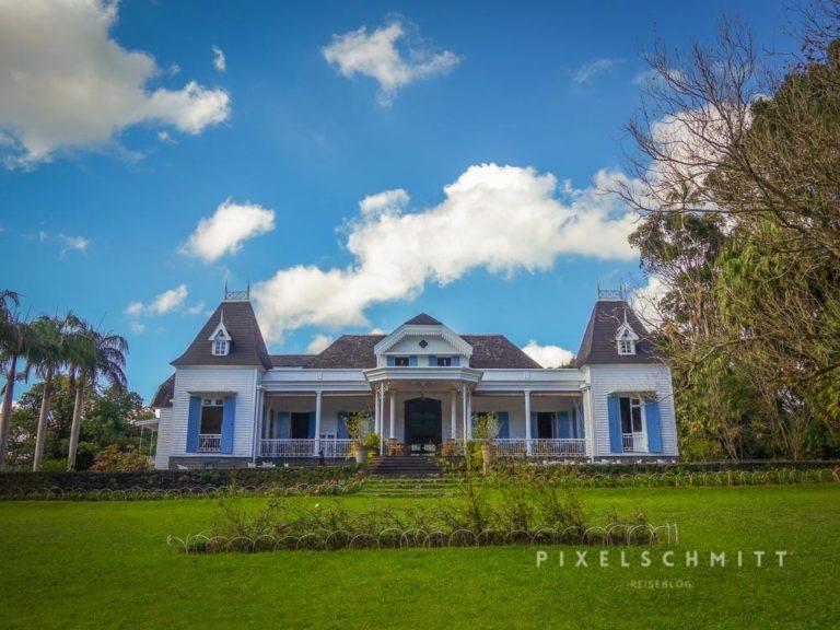 Reste der Briten auf Mauritius