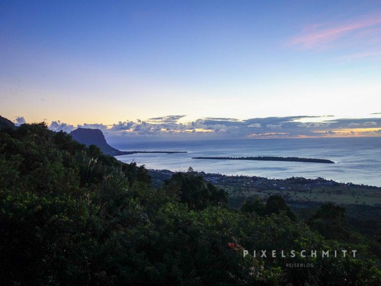 Zum Urlaub auf Mauritius gehören auch tolle Sonnenuntergänge