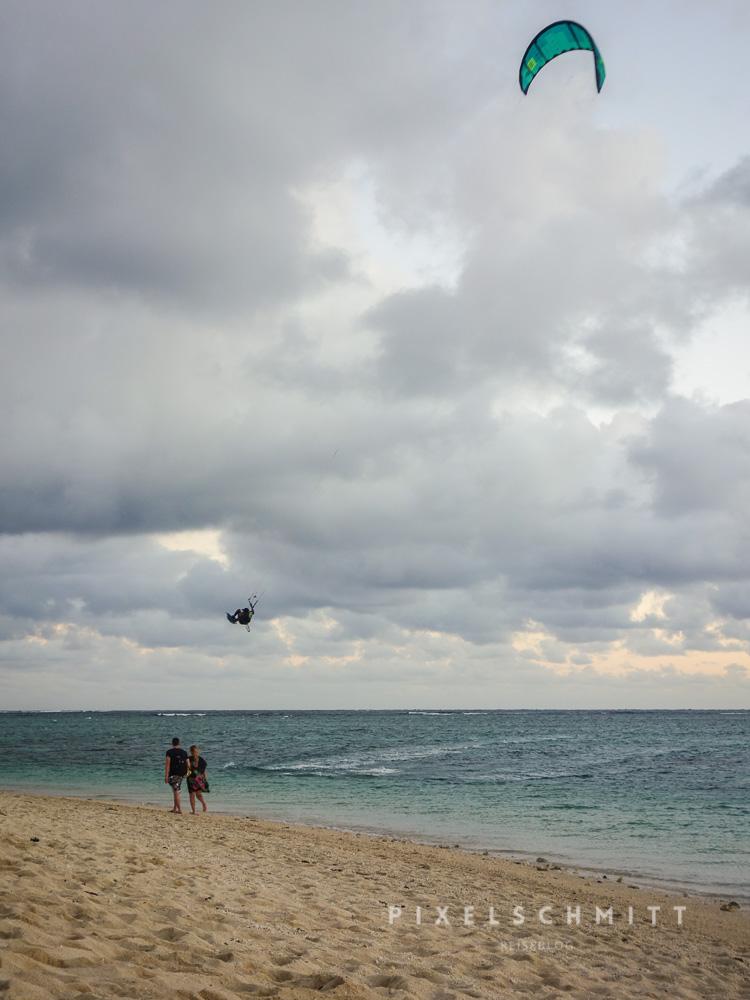 Mauritius ist weltweit einer der besten Spots zum Kitesurfen