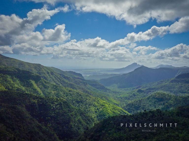 Atemberaubende Landschaften auf Mauritius