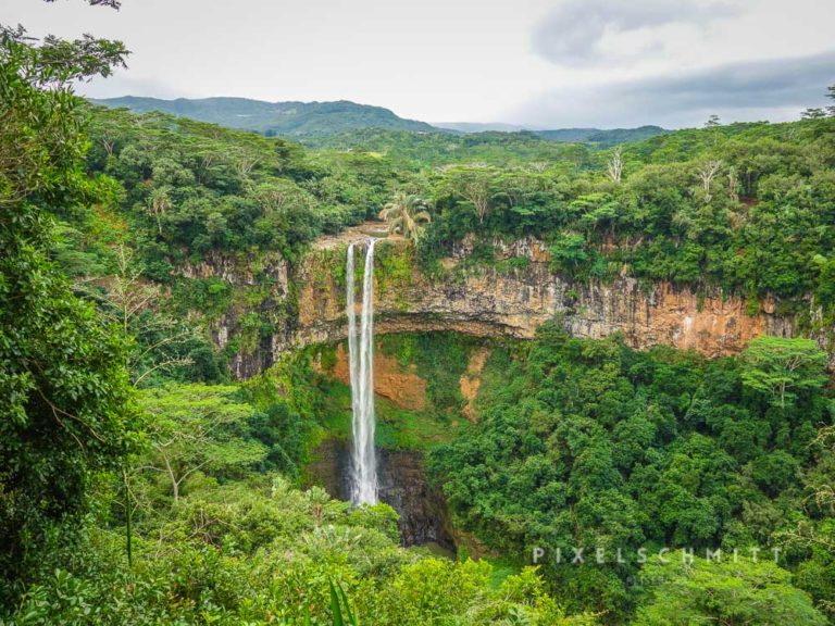 Auf Mauritius gibt es viele Wasserfälle