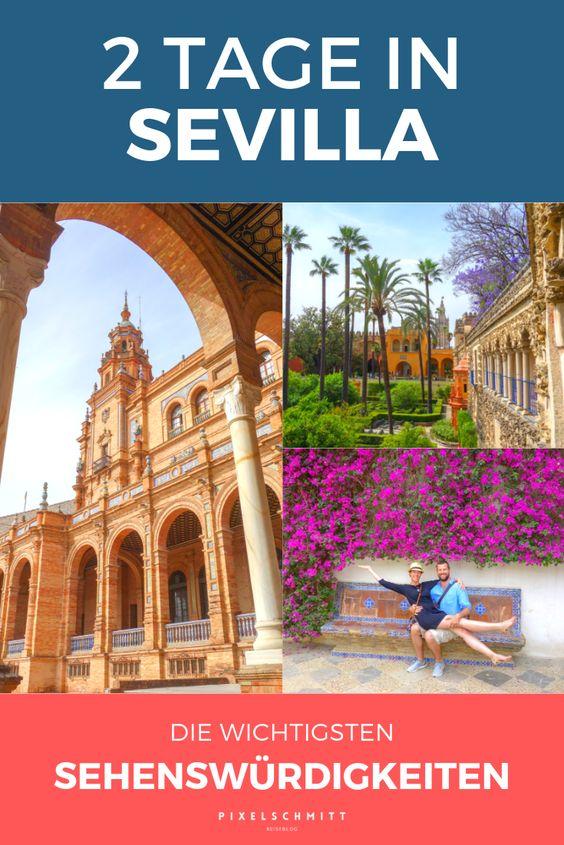 Sevilla: 8 Sehenswürdigkeiten