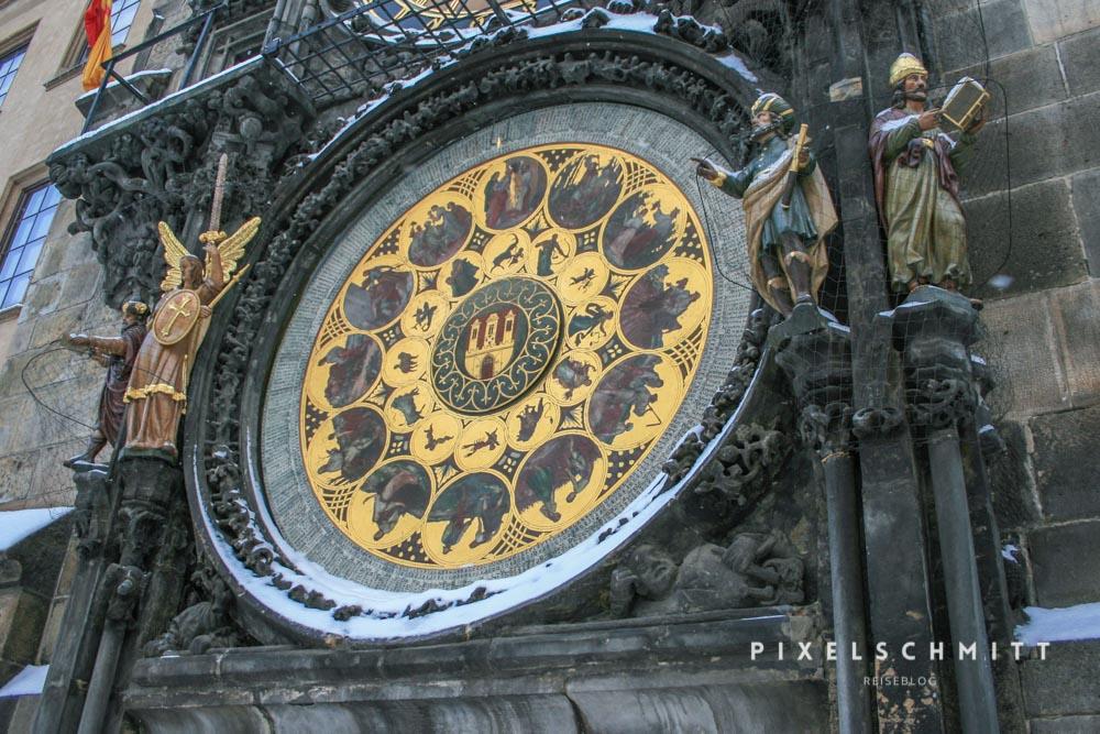 Sehenswürdigkeit in Prag Astronomische Uhr