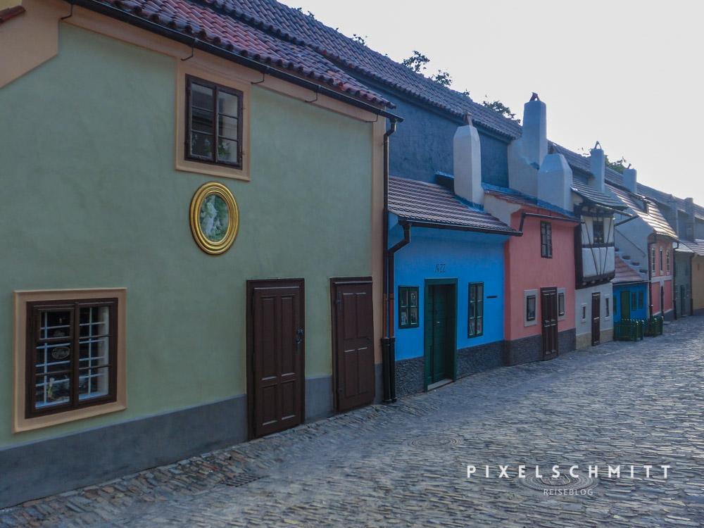Goldmachergässchen Prag Sehenswürdigkeiten