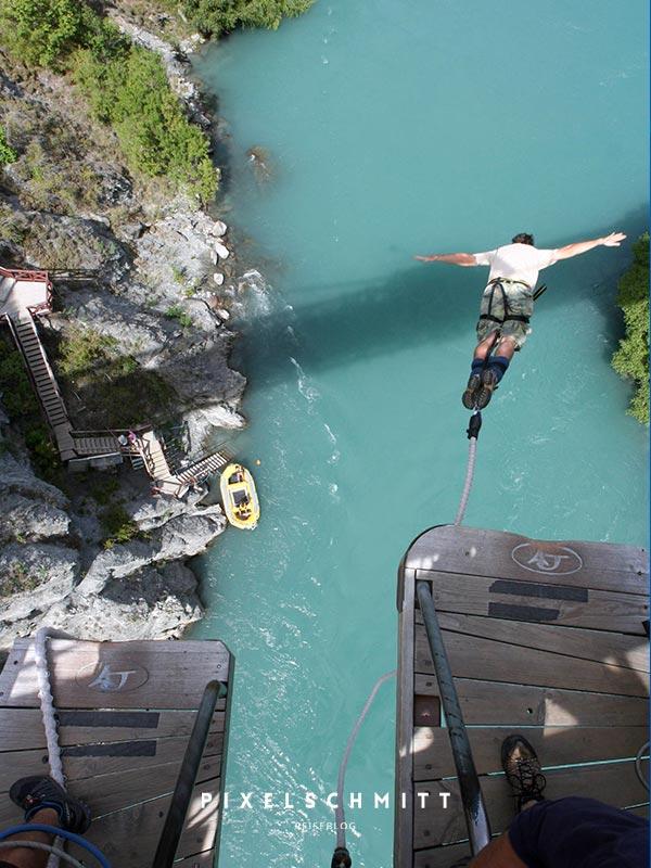 sabbatical bungee jumping neuseeland