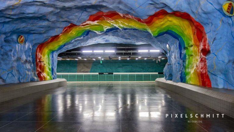 stadion tunnelbana u bahn stockholm