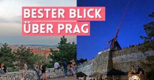 Vom Metronom aus hast du den wohl besten Ausblick über Prag