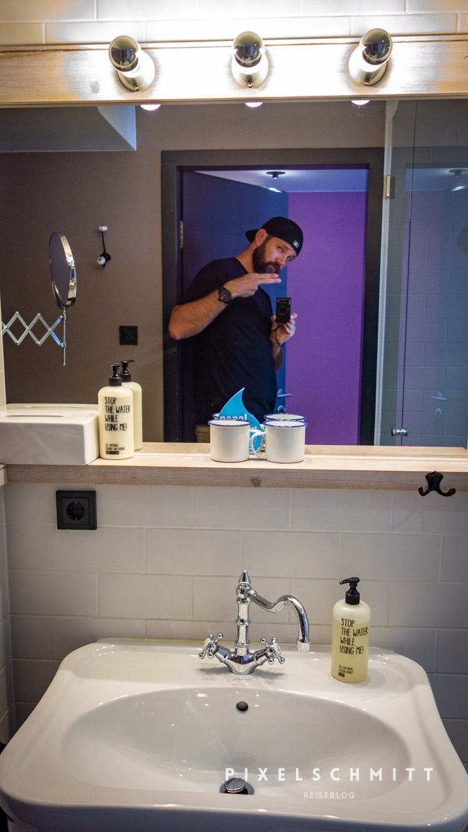 hotel in wien 25hours museumsquartier badezimmer