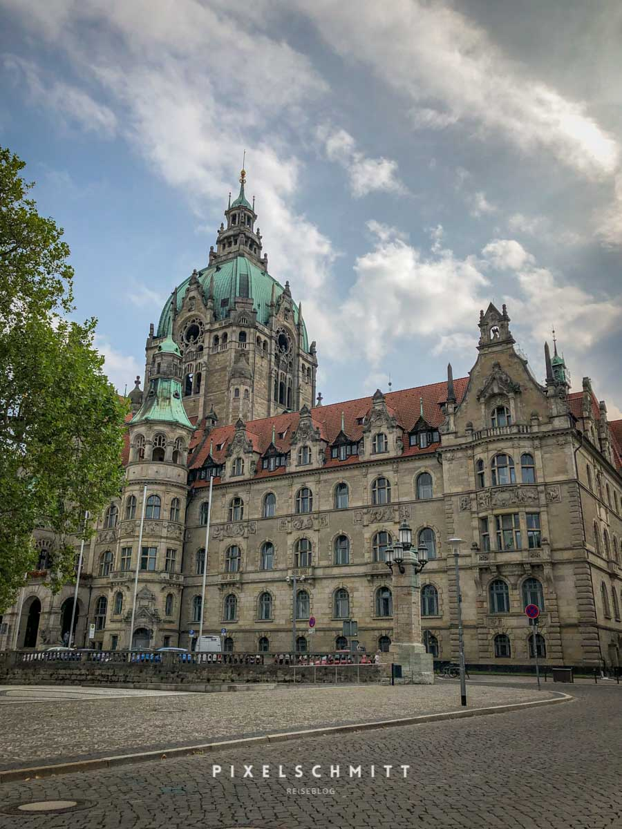 hannover tipps neues rathaus fassade