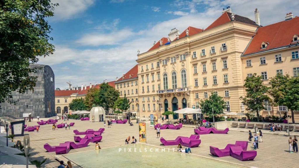 Wien Sehenswürdigkeiten: Museumsquartier