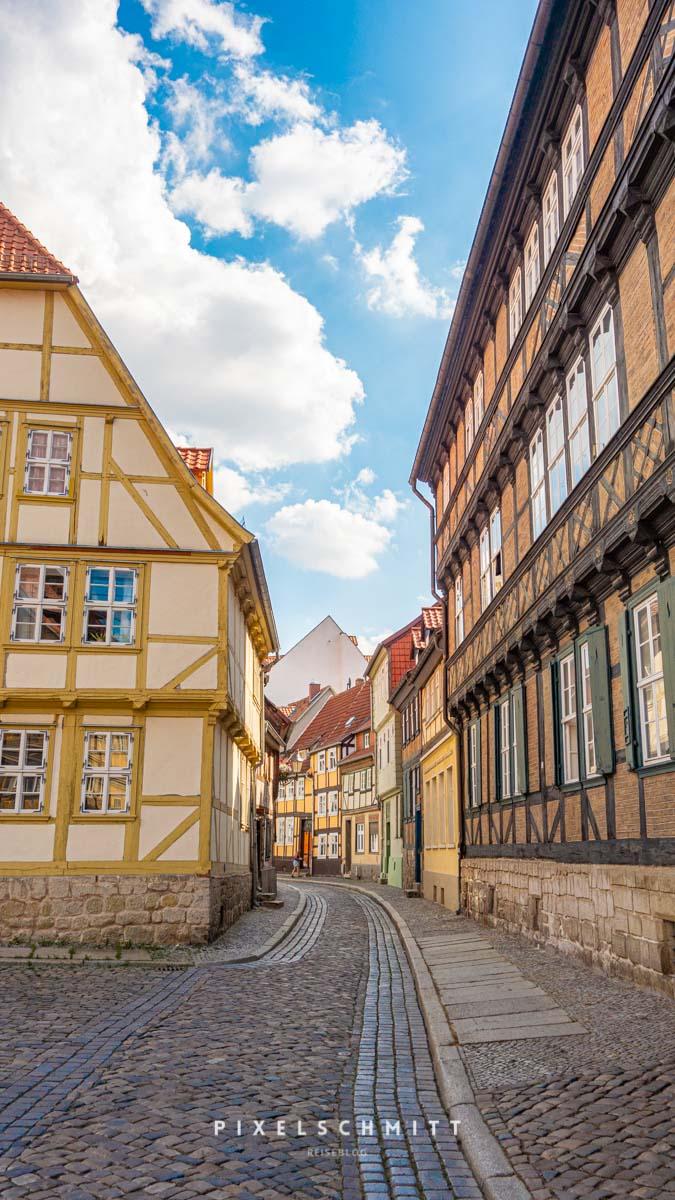 sehenswuerdigkeiten quedlinburg fachwerkhaueser