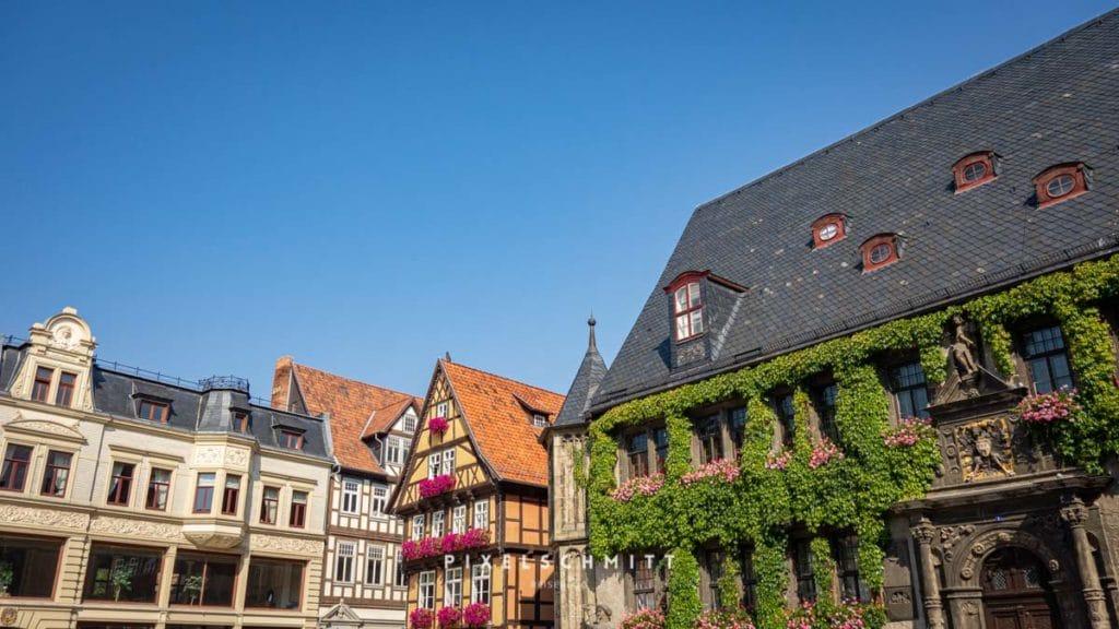 sehenswuerdigkeiten quedlinburg marktplatz