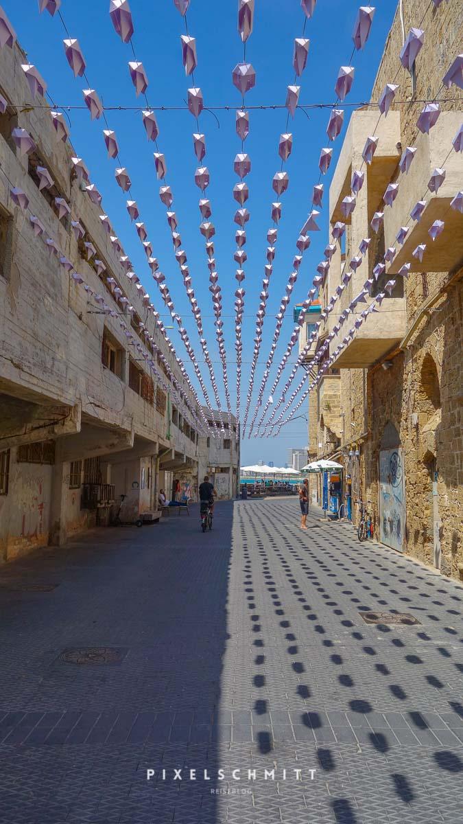 Kunst in der Altstadt von Jaffa