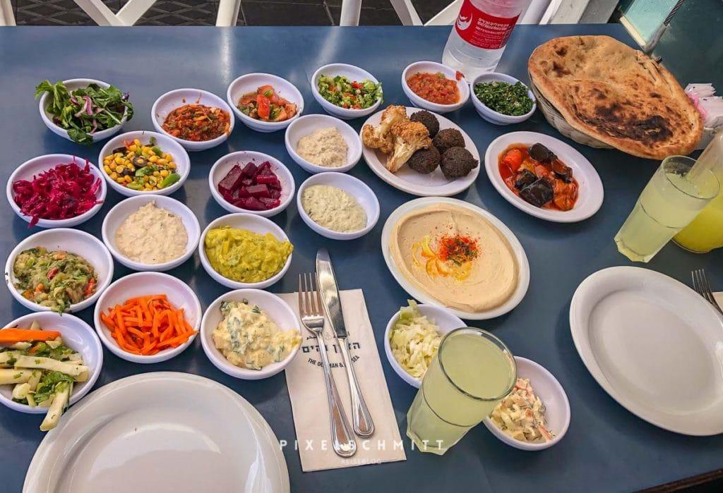 Essen in Tel Aviv