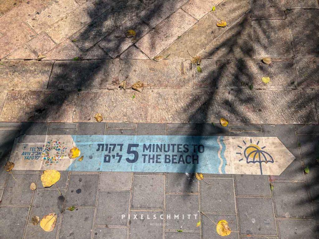 Die Strönde von Tel Aviv