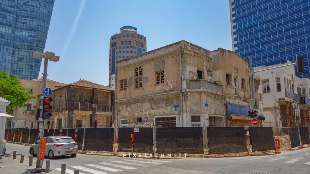 Die ältesten Häuser in Tel Aviv