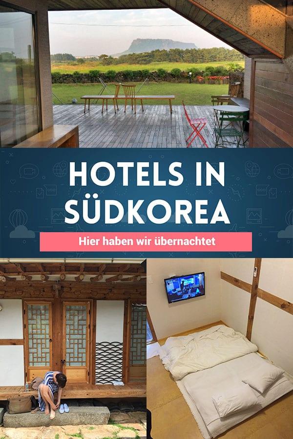 7 echt schöne Hotels in Südkorea
