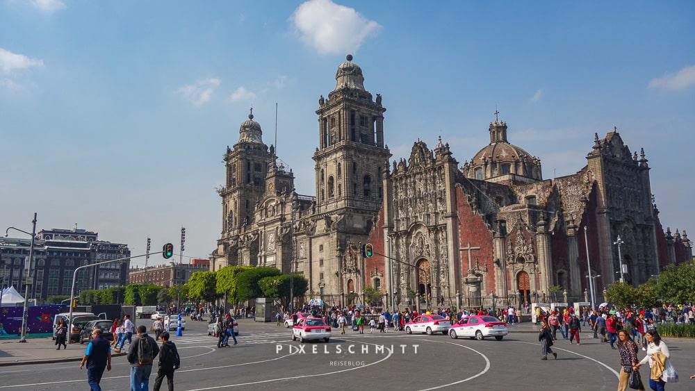 Die Kathedrale von Mexiko-Stadt