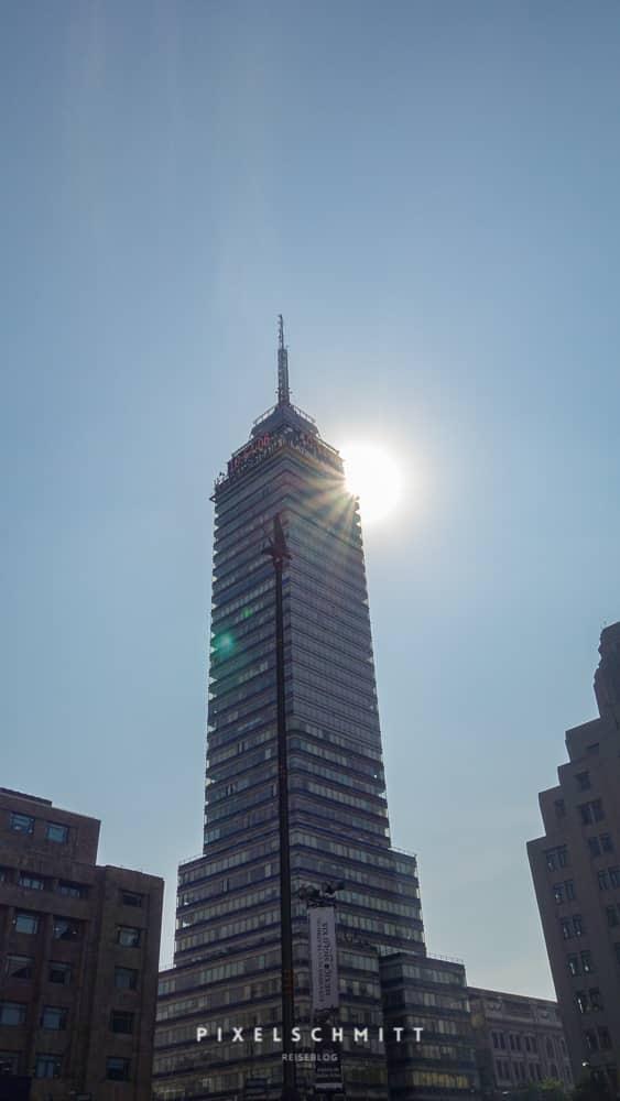 Der Torre Latinoamericano bietet tollen Ausblick über Mexiko-Stadt