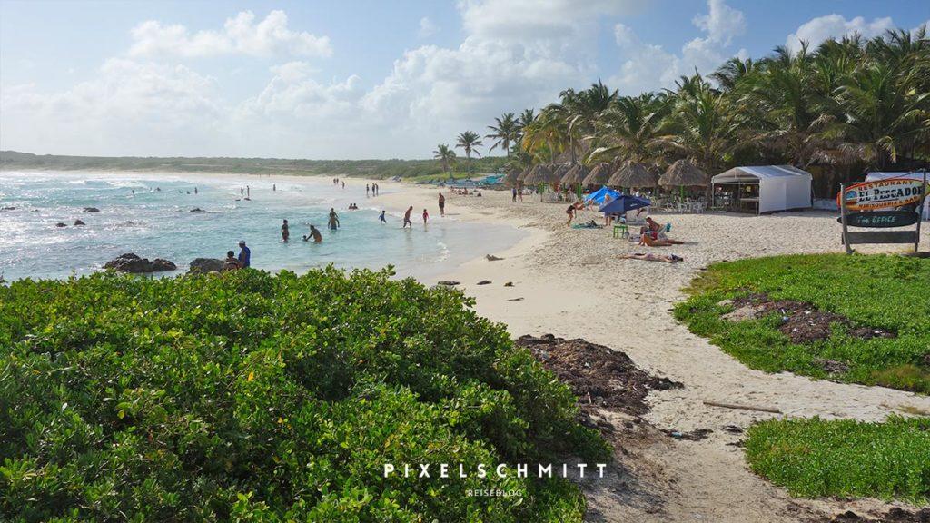 Traumstrand auf der Insel Cozumel