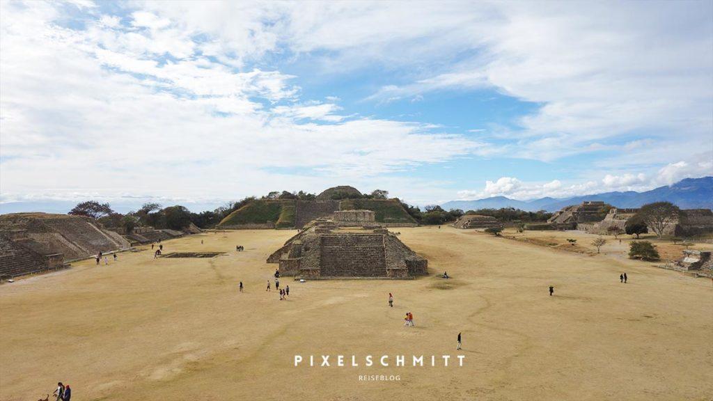 Oaxaca: Die Ruinen von Monte Alban
