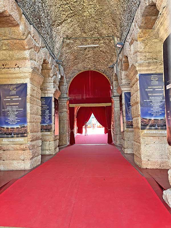 Arena Verona: Einer der Eingänge
