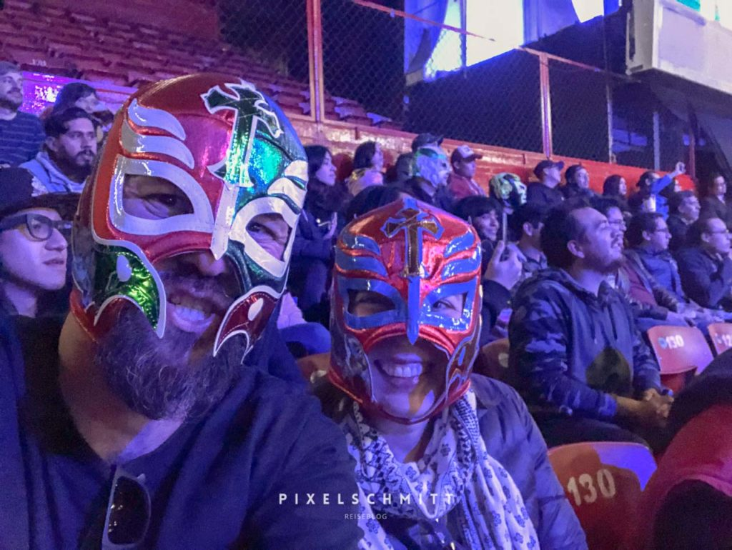 Lucha Libre in Mexiko-Stadt