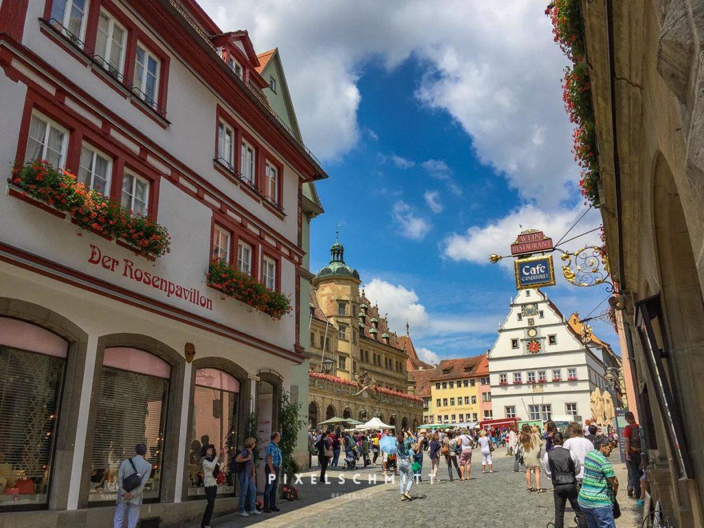 Rothenburg Markplatz