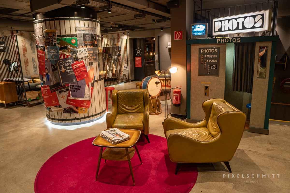 lobby 25hours hotel in wien