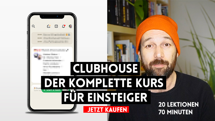 clubhouse kurs