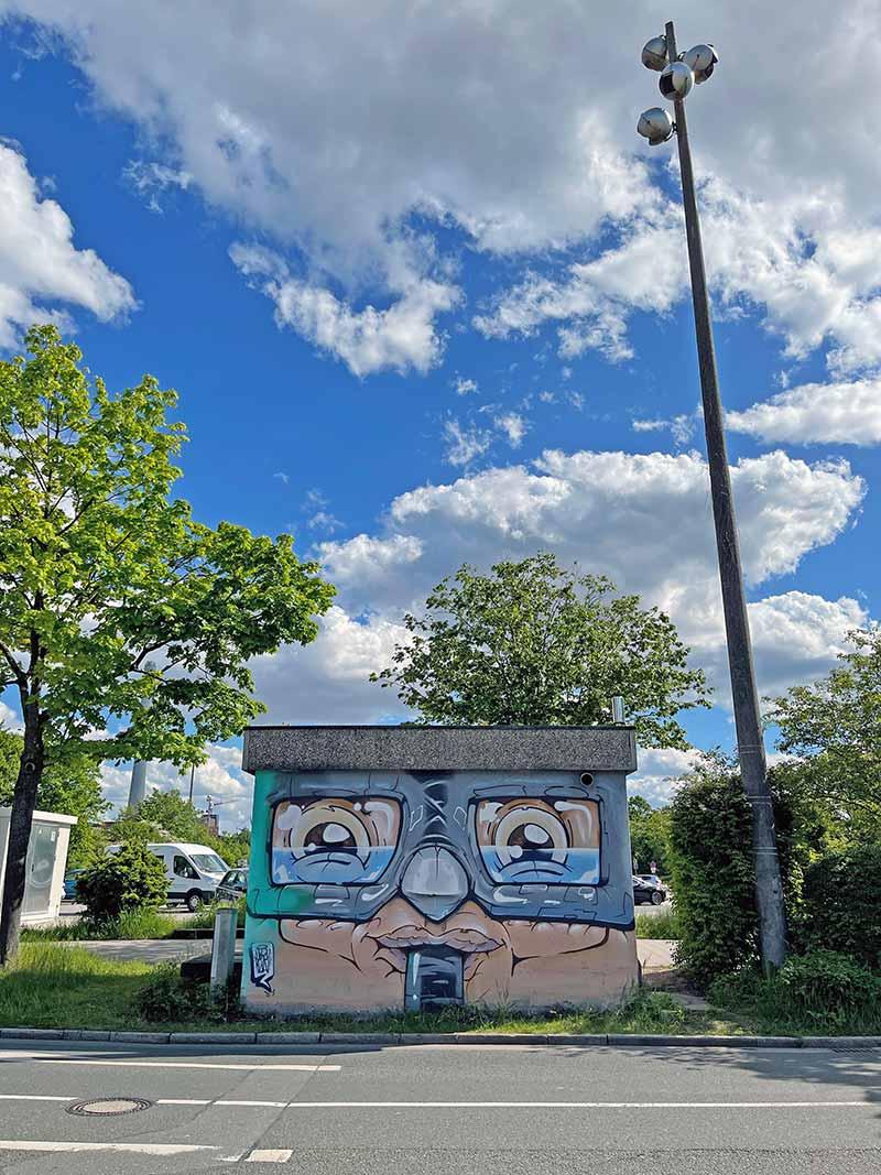 Streetart in Erlangen