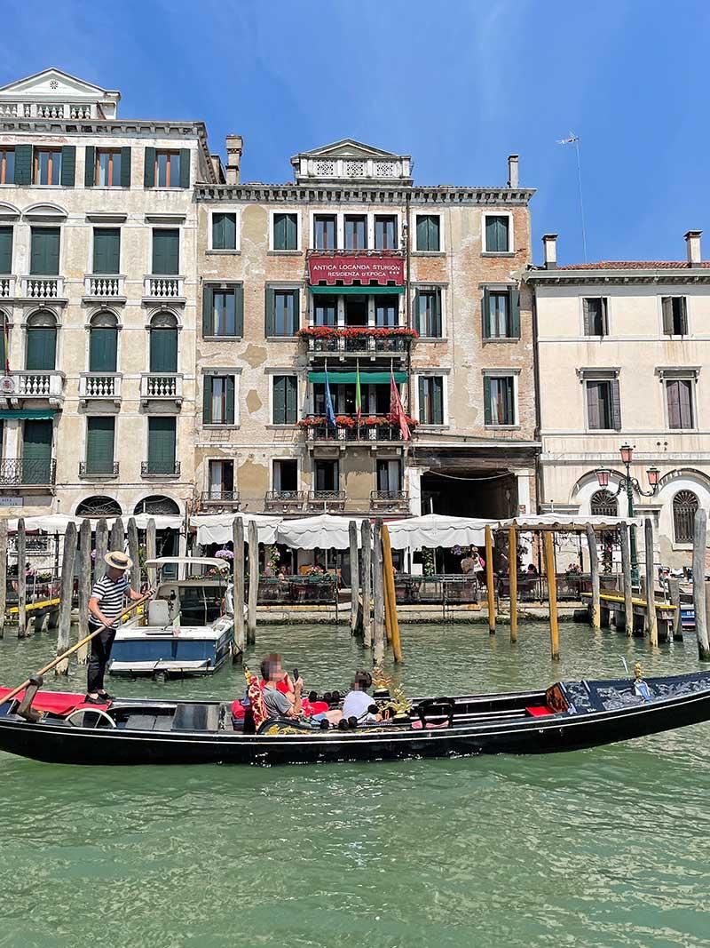 Zentrales Hotel in Venedig