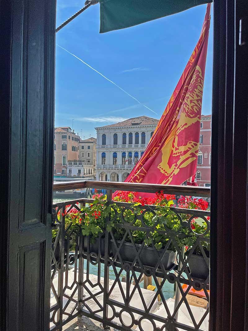 Frühstück in Venedig mit Ausblick
