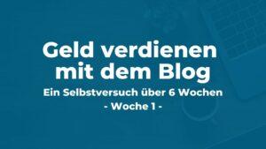 Online Geld verdienen mit einem Blog