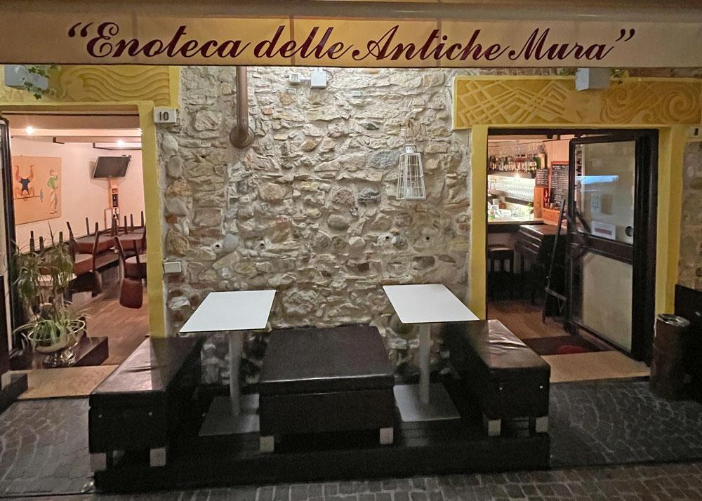 Enoteca delle Antiche Mura (Gardasee): Klein, aber fein (und lecker)