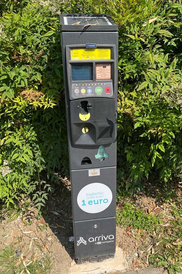 Ticketautomat Sirmione